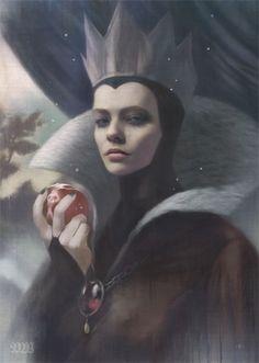 Tom Bagshaw - Disney Villains - Evil Queen Concept Ideas