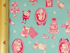 Emi Kondo Japanese Fabric / Classical Alice in by pikobeagle2000, ¥600