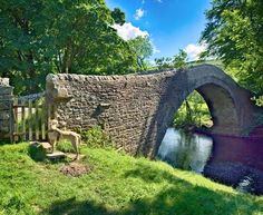 Ivelet Bridge, an ancient bridge over the River Swale in the Yorkshire Dales, built originally for packhorses. Yorkshire England, Yorkshire Dales, North Yorkshire, England Ireland, London England, Chester Cathedral, Uk Holidays, Kingdom Of Great Britain, Over The River