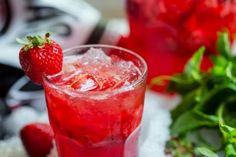 strawberry drink alcohol