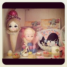 vintage dolly things