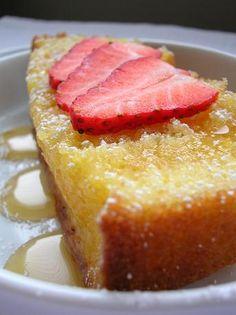 French Yogurt Cake - Dense, moist, simple to make.