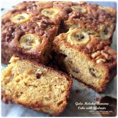 "Our family loves "" banana "" cake except me. But about two weeks ago, when I saw Maryann  (@tubbykat) Gula Melaka Banana Bread's  photo on..."