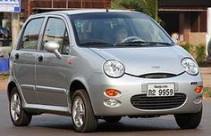 Chery QQ in Pakxe Laos - Chery - Wikipedia Daihatsu, Nissan 350z, City Car, Koenigsegg, Car In The World, Ford Gt, Buick, Bugatti, Mazda