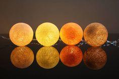 Cordão de luz Outono - Pipilota