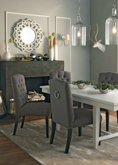 Try Cool Aqua 205640 In Ben®Benjamin Moore For A Rejuvenating Interesting Silver Creek Dining Room Inspiration Design