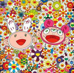 Bid now on Kaikai and Kiki: Lots of Fun by Takashi Murakami. View a wide Variety of artworks by Takashi Murakami, now available for sale on artnet Auctions. Folklore Japonais, Art Japonais, Superflat, Japanese Art Modern, Japanese Artists, Takashi Murakami Prints, Murakami Artist, Manga, Murakami Flower
