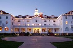 The Stanley Hotel, Estes Park, CO. The Shining was based off of this hotel. Must go!