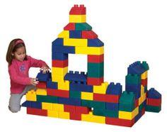 Buy Giant Edu-Blocks Soft Brick Building Set online in Australia - http://www.kangatoys.com/buy-giant-edu-blocks-soft-brick-building-set-online-in-australia/ #toys #games #Australia #children