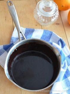 Idealna polewa czekoladowa z kakao Chocolate Fondue, Sweet Recipes, Frosting, Deserts, Good Food, Food And Drink, Cooking Recipes, Sweets, Cookies