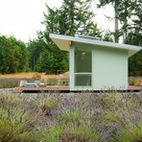 Whidbey Island Potting Shed - modern - exterior - seattle - BUILD LLC