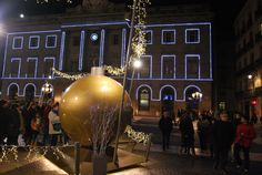 Navidades . Plaza Sant jaume