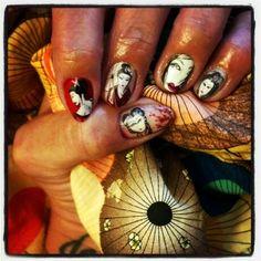 #Geisha #nails #nailart