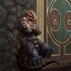 m Half Dragon Rogue Thief hilvl urban City The Elder Scrolls Legend Card Arts. Fantasy Races, Fantasy Warrior, Fantasy Rpg, Medieval Fantasy, Fantasy Character Design, Character Concept, Character Art, Alien Creatures, Fantasy Creatures