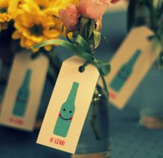 such a cute idea for a wedding favor!