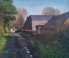 Buy Crossroads Ahead by Eugene Conway at Gormleys Fine Art gallery. Leading dealers in Irish art since Painting Gallery, Fine Art Gallery, Irish Art, Belfast, Contemporary Paintings, Dublin, Country Roads, Sculpture, House Styles