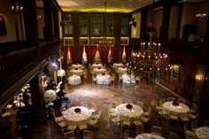Love this shot of the HCNY Main Dining Room and love this photographer!