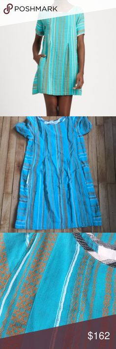 Ace & jig artisan dress in mineral new without tags. Really beautiful  vibrant turquoise.