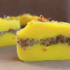 Lemon Sunshine Calendula Soap [ HGNJShoppingMall.com ] #trending #shop #deals