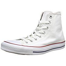 Find Converse Chuck Taylor All Star Canvas High Top Sneaker online. Shop the latest collection of Converse Chuck Taylor All Star Canvas High Top Sneaker from the popular stores - all in one High Top Sneakers, High Top Chucks, Sneakers Mode, Classic Sneakers, White Sneakers, Sneakers Fashion, Casual Sneakers, Fashion Shoes, Fashion Accessories