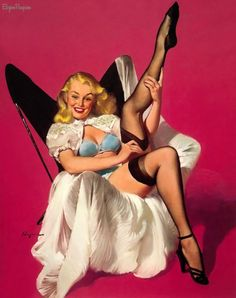 Vintage Pin-Up Girls of Gil Elvgren: Gallery 4 |