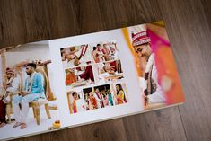 We'd like to present the wedding album of Ravi and Rina. Rina was a fan of our work from the very beginning and was excited for us to create a beautiful set… Indian Wedding Album Design, Indian Wedding Photos, Wedding Pictures, Wedding Photo Books, Wedding Photo Albums, Indian Wedding Couple Photography, Bridal Photography, Photography Poses, Wedding Album Layout