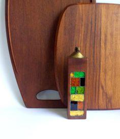 Mid Century Danish Modern Georges Briard Teak table lighter, MidCenturyFLA,