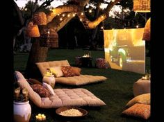 25 Amazing Outdoor Cinemas...oh yes, this will be mine!!!