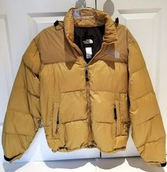 7d6f46d43e THE NORTH FACE Men s Tan Down 700 Vintage Jacket Size S Hood  TheNorthFace   BasicJacket