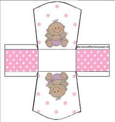 Cajitas imprimibles de bebitas 2.