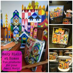 Mary Blair at Home: Fun products for your Small World