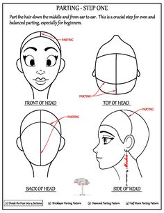 Pictorial on parting the hair to create a balanced and full set of box braids and individual double twists utilizing the Bricklayer Pattern. More braiding patterns to come.