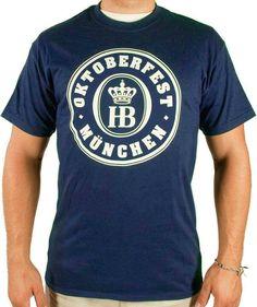 Navy Blue Hofbrauhaus Oktoberfest T-Shirt