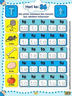 Worksheets for kids Hijab hijab variations Preschool Writing, Preschool Learning Activities, Preschool Printables, Preschool Worksheets, English Worksheets For Kids, English Lessons For Kids, Reading Worksheets, Pre Writing, Writing Practice