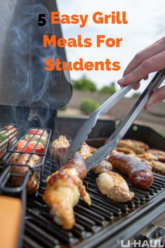 It's almost time to go back to school, but that doesn't mean your grill has to go away! Check out these 5 easy grill meals for returning students 🍔🌭 Outdoor Paving, Outdoor Tiles, Grilling Recipes, Grill Meals, Gas Wall Oven, Outdoor Refrigerator, Pcb Circuit Board, Grill Master, Appliances