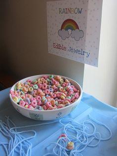"Photo 20 of 46: Rainbow / Birthday ""Julianne's Rainbow Birthday Party"""