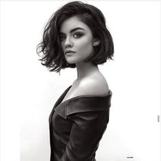 Lucy Hale has perfect hair