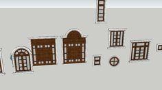 Large preview of 3D Model of door22