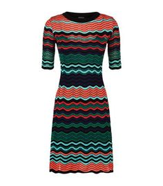 M MISSONI Multi Wave Knitted Dress. #mmissoni #cloth #