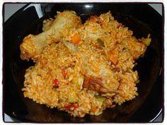 Pilons de poulet riz et petits légumes (cookéo)