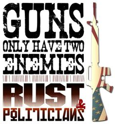 ...Rust and politicians..