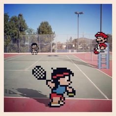 Videogame Sprites In the Real World 15