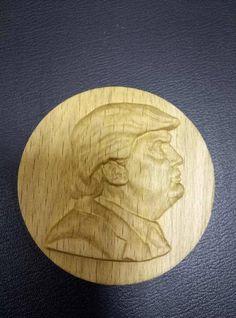 Wood medal Donald Trump