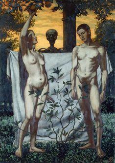 Adam and Eve Hans Thoma (1897)