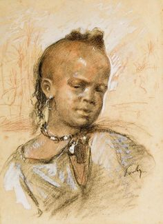Henri Pontoy - Portrait d'enfant