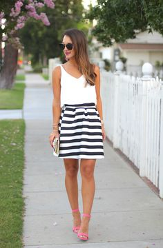 Seeing Stripes   This is SO cute! My favorite blog by far