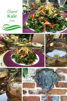 ... tropical kale salad annie mango mania palm beach blog page kale salads