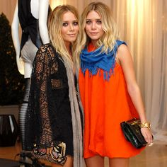 What I love about the Olsen style is that they never look uncomfortable or overdone. Maybe it is the messy bed head hair they usually have or the fact that stuff is not skin tight and plunging (usually) but it is a look I adore. I just feel like they can breathe.
