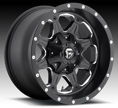 """Fuel Offroad Boost Wheel for the Toyota FJ Cruiser  17x9  6x5.5 &6x135 Lug Pattern  Lip Size: 2.93  Offset/Spacing: -12/4.5""""  TPMS Compatible  $211.90"""