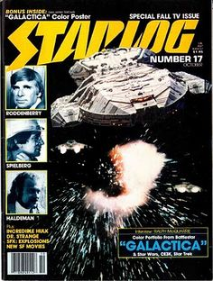Starlog Magazine R.I.P. thankfully I have a gizillion back issues. This was the best sci fi magazine